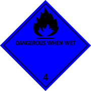 Dangerous when Wet, Svart