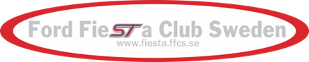 dekal Ford Fiesta Club Sweden